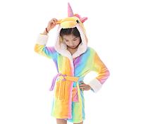 Кигуруми халат Единорог радужный для детей