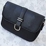 Женская сумка клатч черная (315), фото 5