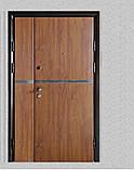 Двері вхідні метал в плівці БЕЗКОШТОВНА ДОСТАВКА, фото 3