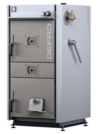 Tвердотопливный пиролизный котел Defro DS 20 кВт