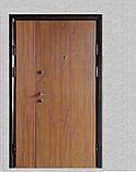 Двері вхідні метал в плівці БЕЗКОШТОВНА ДОСТАВКА, фото 4
