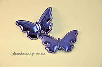 Аппликация (патч) Лаковая бабочка 5 см. (2 шт.)