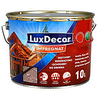 Акрилово-восковая пропитка для дерева LuxDecor Impregnat 10л (Светлый дуб)
