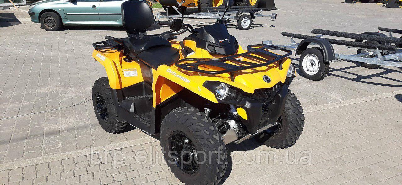 Б.У Outlander MAX 570 DPS Orange Crush (2019 год).