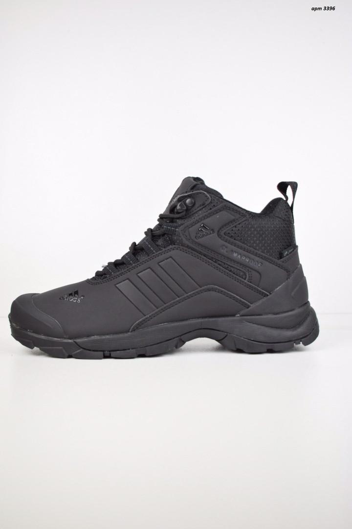 """Зимние ботинки на меху Adidas Climaproof """"Черные"""""""