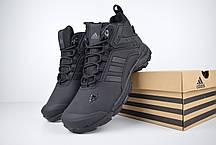 """Зимние ботинки на меху Adidas Climaproof """"Черные"""", фото 2"""