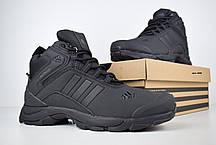 """Зимние ботинки на меху Adidas Climaproof """"Черные"""", фото 3"""