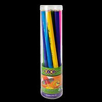 Олівець графітовий JUMBO HB, без гумки, туба (10 шт.)