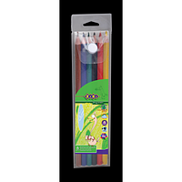 Олівці кольорові PROTECT в пеналі, 6 кольорів