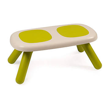 Лавочка без спинки дитяча Smoby Toys Зелена 880301