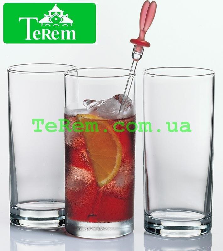Набор стаканов для коктейля 3 шт Istanbul 290 мл 42402
