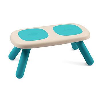 Лавочка без спинки дитяча Smoby Toys Блакитна 880302