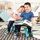 Лавочка без спинки детская Smoby Toys Голубая 880302, фото 2