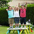 Лавочка без спинки детская Smoby Toys Голубая 880302, фото 3