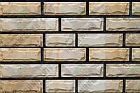 Плитка Руст песчаник Старый город KLVIV ширина 6 см., лицевая сторона скол/лицо спил, фото 1