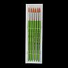 Пензлик синтетика кругла №8, в блістері 6 шт