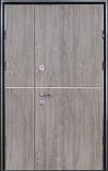 Двері вхідні метал в плівці БЕЗКОШТОВНА ДОСТАВКА, фото 5