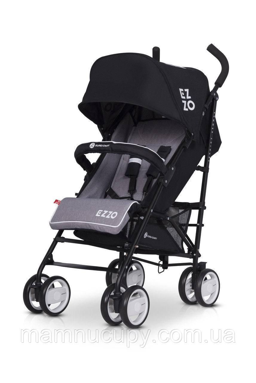 Детская прогулочная коляска трость Euro Cart Ezzo 2019 Antracite