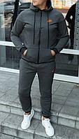 Спортивный костюм Nike. Мужской утепленный спортивный костюм. ТОП качество!!!Реплика., фото 1