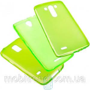 Чехол силиконовый цветной Samsung Grand 2 G7102, G7105, G7106 зеленый