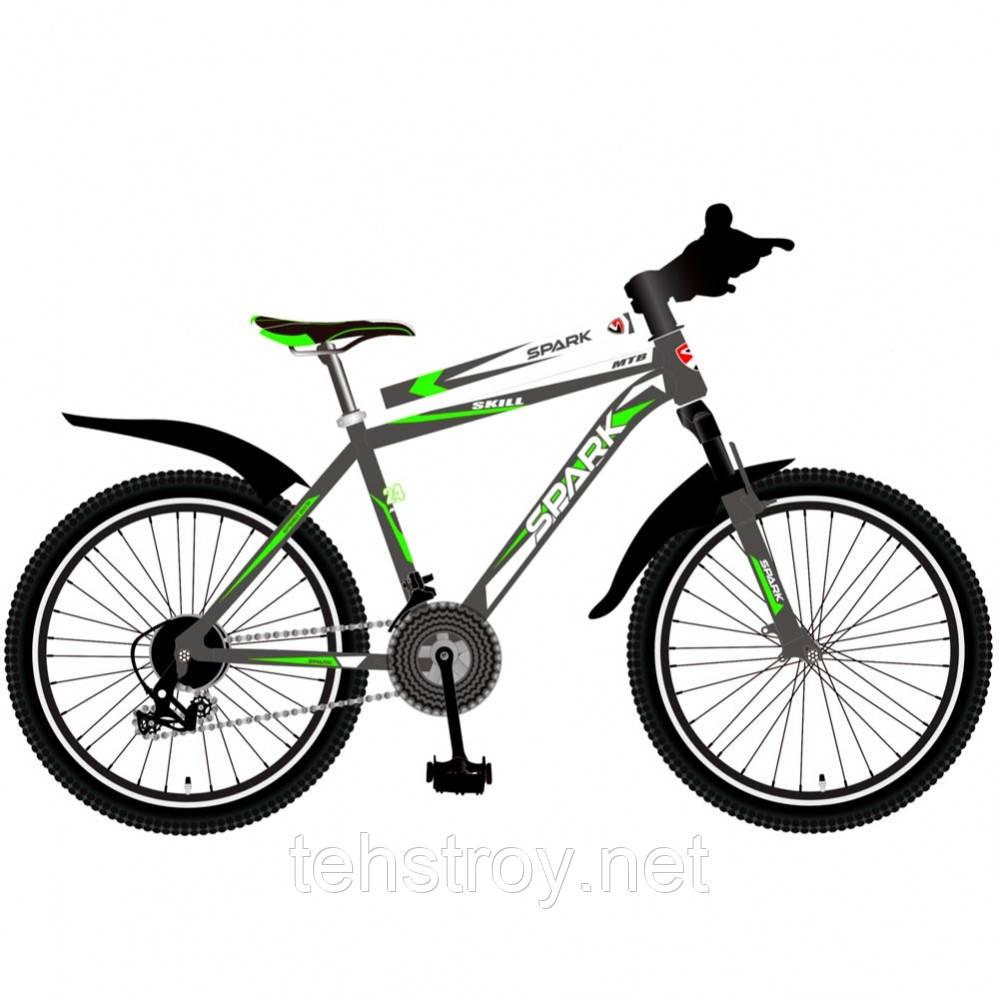 24' Велосипед SPARK SKILL, рама - Сталь