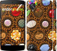 "Чехол на LG Nexus 5 Сладости ""2847c-57"""
