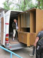 Вывоз старой мебели , вещей, бытовой техники Днепропетровск