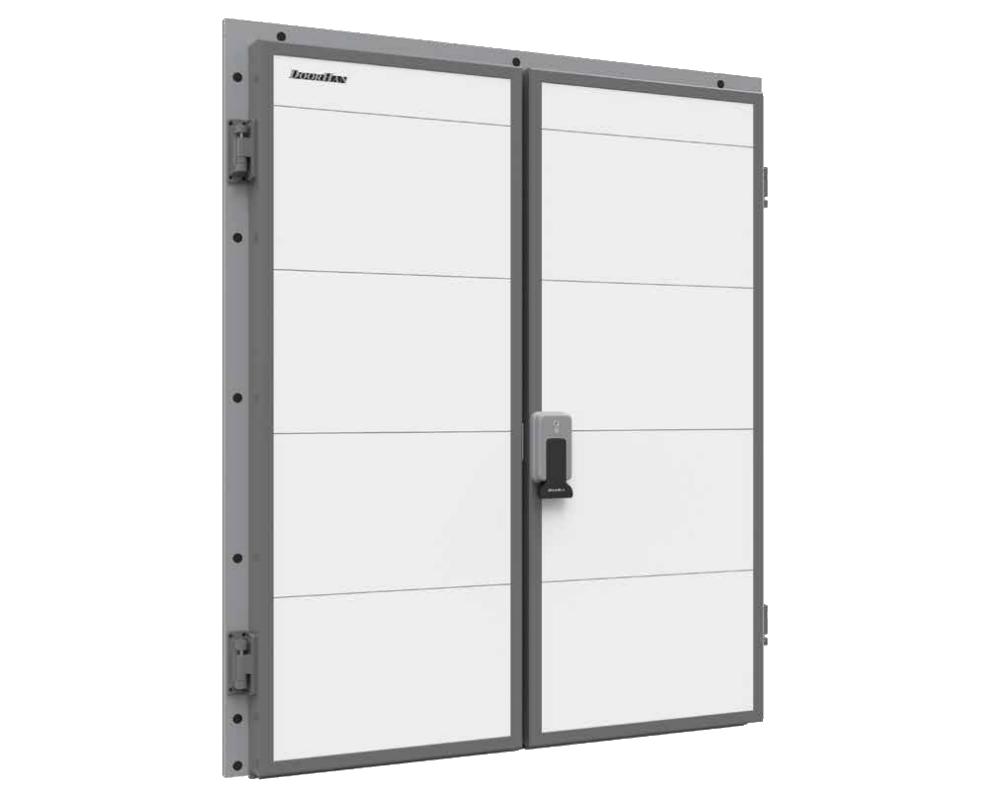 Дверь распашная двухстворчатая для холодильных камер DoorHan IsoDoor IDH2