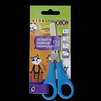 Ножиці дитячі 132мм, для лівші, синій, KIDS Line, фото 1