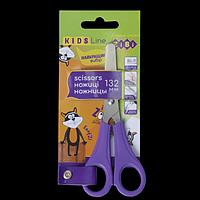 Ножиці дитячі 132мм, для лівші, фіолетовий, KIDS Line, фото 1