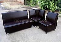 Угловой диван для бара Амстердам