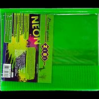 Обкладинка для зошитів NEON А5 з клапаном, PVC, салатова, фото 1
