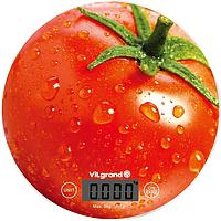 Весы кухонные электронные 5 кг (без чаши) Помидор ViLgrand VKS-519_Tomato