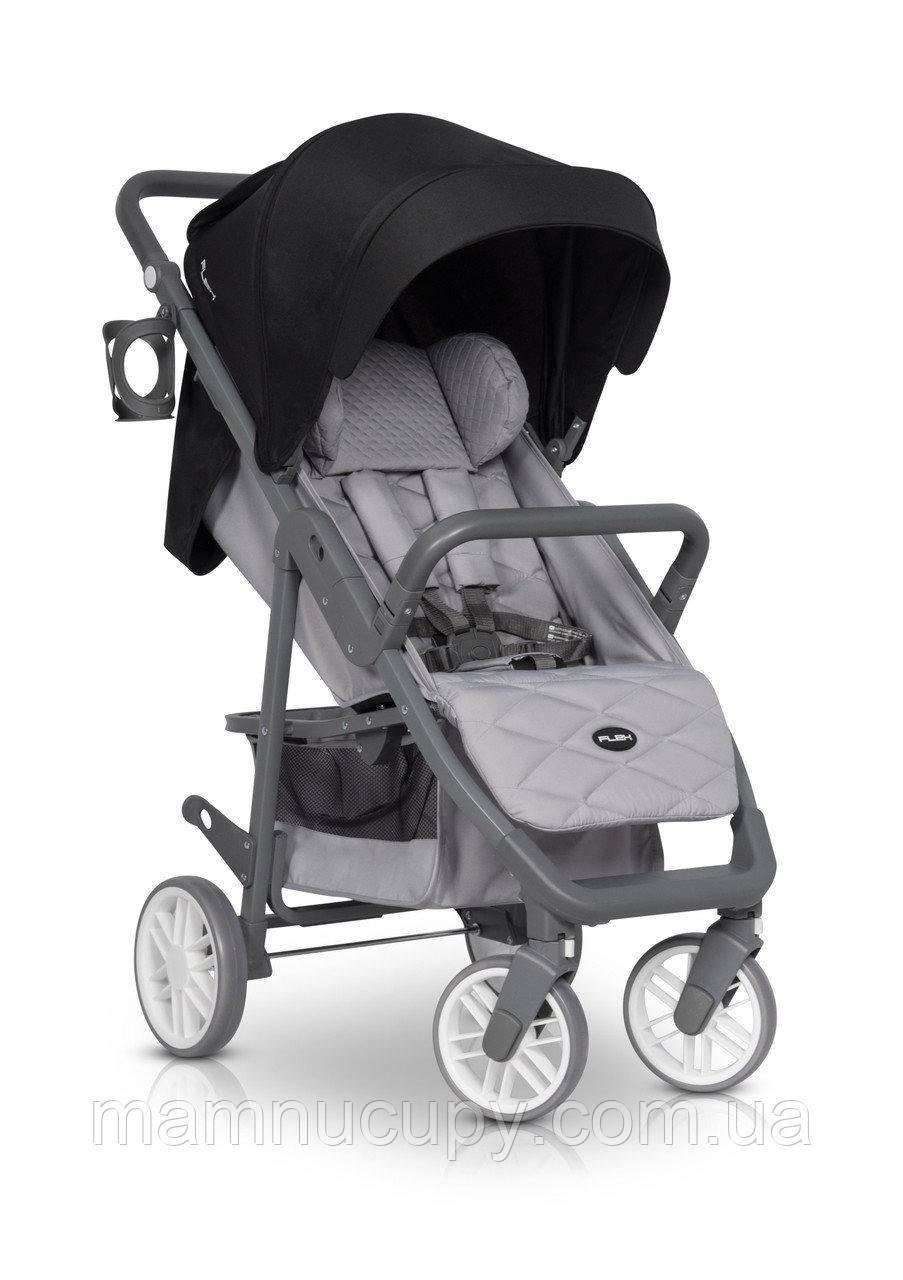 Детская прогулочная коляска Euro-Cart Flex Antracite