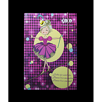 """Папка для зошитів """"PRINCESS"""", картонна, на гумках В5+"""
