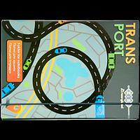 """Папка для зошитів Art Effect """"TRANSPORT"""", картонна, на гумках В5+"""