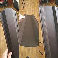 Штакетник Коричневый Китай  двухсторонний рал 8017 мат 0,45 мм