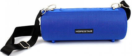 Портативная Bluetooth колонка Hopestar H39 с влагозащитой Blue, фото 2