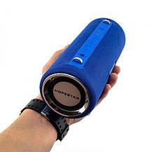 Портативная Bluetooth колонка Hopestar H39 с влагозащитой Blue, фото 3