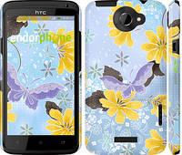 """Чехол на HTC One X Лето """"2846c-42"""""""
