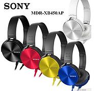 Наушники  Sony MDR-XB450AP чёрные синие белые жолтые красные