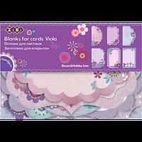 """Заготовка для листівок """"Viola"""" 10.2*15.3см"""