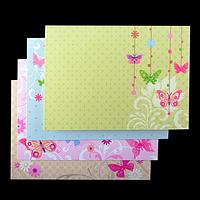 "Заготовка для листівок ""Flutter"" 10.5*14.8см"
