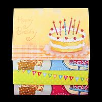 """Заготовка для листівок """"Birthday"""" 10.5*14.8см"""