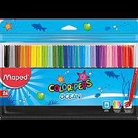 Фломастери COLOR PEPS Ocean, 24 кольори
