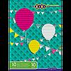 Набір кольорового паперу А4, 10 аркушів: 4неон. та 6стандарт.кольорів