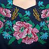 """Жіноча сукня з вишивкою """"Ружа"""" на синьому фоні, фото 6"""
