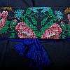 """Жіноча сукня з вишивкою """"Ружа"""" на синьому фоні, фото 7"""