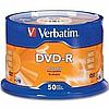 Диск DVD-R, 4.7Gb, 16х, Wrapped Matt Silver, Srink (50)
