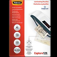 Плівки для ламінування глянсові 125 мкм, 154x216 мм - A5, 100 шт.